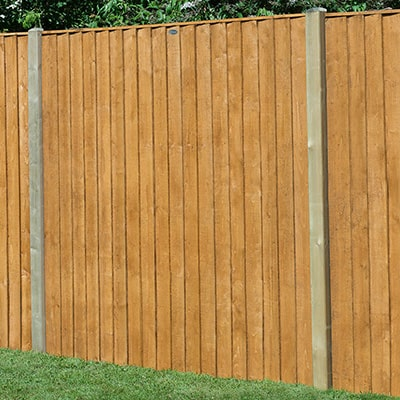 Forest Garden 6x6 Featheredge Fence Panel