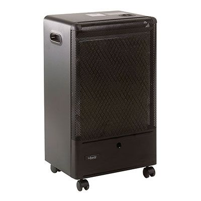 a black catalytic portable gas heater