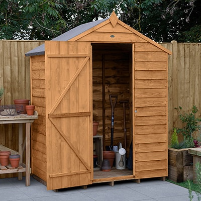 5x3 Wooden Garden Shed
