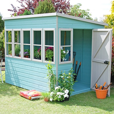 Shire Sun Pent Potting Shed