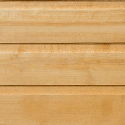 wooden shiplap cladding on a shed