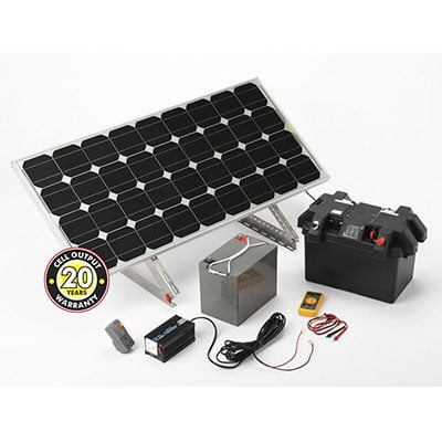 a complete solar power station kit