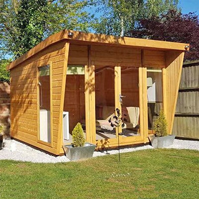10x8 Shire Highclere Summerhouse