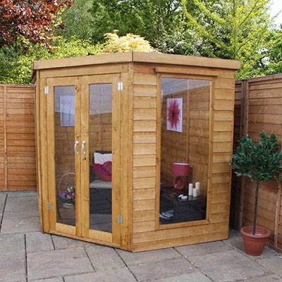 7x7 Windsor Premier Corner Wooden Summerhouse-min