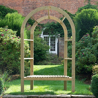 Forest Infinity Wooden Arbour
