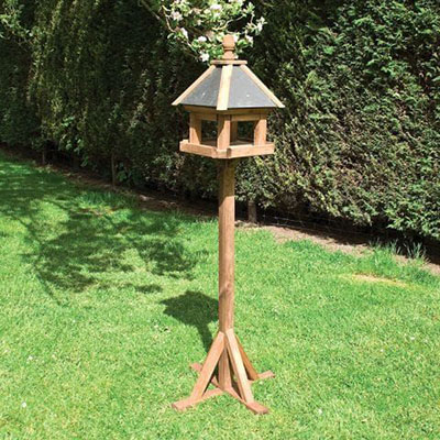 Rowlinson wooden bird table from Shedstore