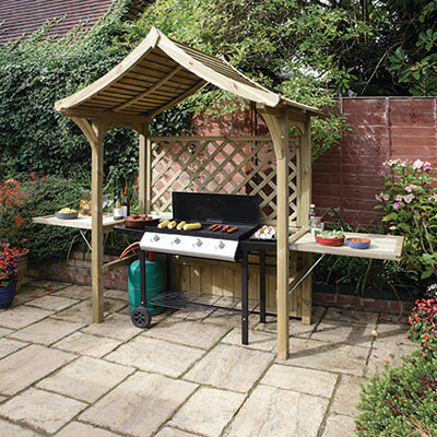 Rowlinson BBQ Shelter Party Arbour