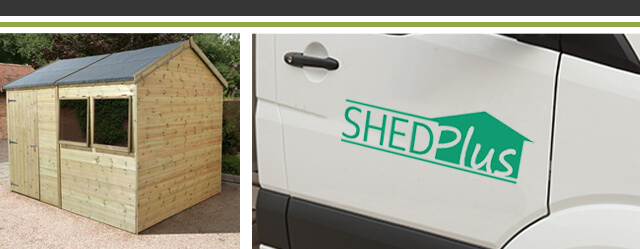 Shed-Plus Champion ShedDelivery