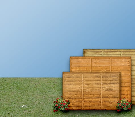 fence panels <br> by size