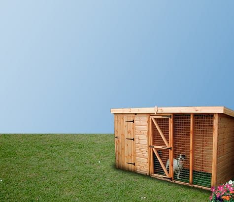 Wooden <br> pet houses