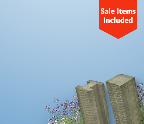 Fence Posts </br> at amazingly low prices