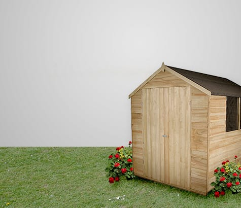 Find the right shed for your <br> garden