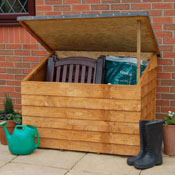 Wooden overlap Garden Chest