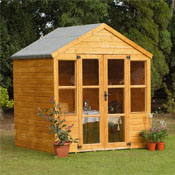 Top 5 summer houses and garden offices buy sheds direct uk for Garden shed 7x6